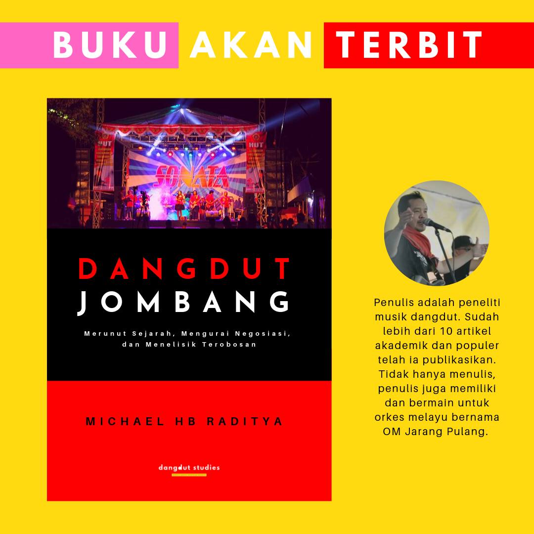 Buku ini membahas musik dangdut di Jombang, Jawa Timur. Penulis melakukan penelitian etnografi untuk mengartikulasikan musik dangdut di daerah. Pada buku ini, penulis membaca konstelasi musik dangdut, mulai dari merunut sejarah, mengurai siasat (negosiasi), serta menelisik kerja kebudayaan mereka (terobosan).
